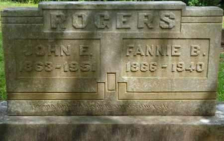 ROGERS, FANNIE B - Prentiss County, Mississippi | FANNIE B ROGERS - Mississippi Gravestone Photos