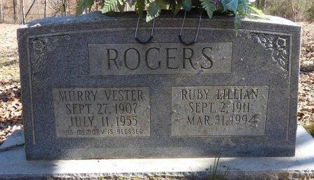 ROGERS, RUBY LILLIAN - Prentiss County, Mississippi | RUBY LILLIAN ROGERS - Mississippi Gravestone Photos