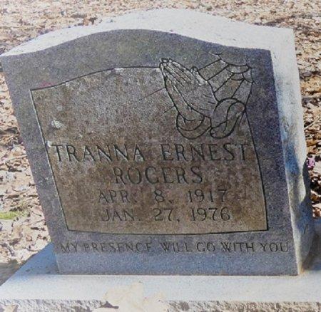 ROGERS, TRANNA EARNEST - Prentiss County, Mississippi   TRANNA EARNEST ROGERS - Mississippi Gravestone Photos