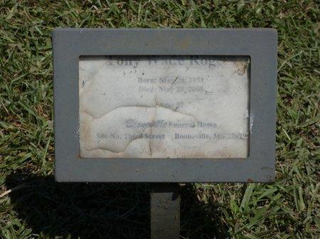 ROGERS, TONY WADE - Prentiss County, Mississippi   TONY WADE ROGERS - Mississippi Gravestone Photos