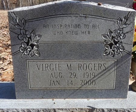 ROGERS, VIRGIE M - Prentiss County, Mississippi | VIRGIE M ROGERS - Mississippi Gravestone Photos
