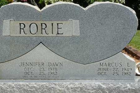 RORIE, MARCUS L - Prentiss County, Mississippi | MARCUS L RORIE - Mississippi Gravestone Photos