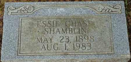 SHAMBLIN, ESSIE - Prentiss County, Mississippi | ESSIE SHAMBLIN - Mississippi Gravestone Photos
