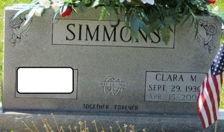 SIMMONS, CLARA M - Prentiss County, Mississippi | CLARA M SIMMONS - Mississippi Gravestone Photos