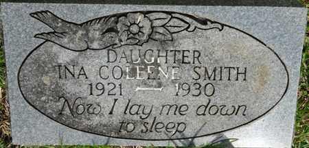 SMITH, INA COLEENE - Prentiss County, Mississippi | INA COLEENE SMITH - Mississippi Gravestone Photos
