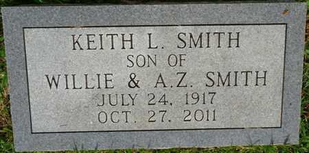 SMITH, KEITH L - Prentiss County, Mississippi | KEITH L SMITH - Mississippi Gravestone Photos