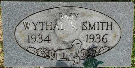 SMITH, WYTHAL V - Prentiss County, Mississippi | WYTHAL V SMITH - Mississippi Gravestone Photos