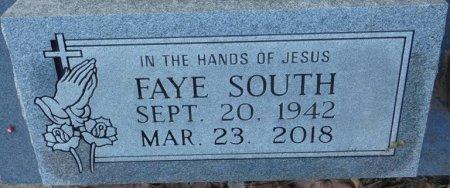 "SOUTH, EVELYN FAYE ""FAYE"" - Prentiss County, Mississippi | EVELYN FAYE ""FAYE"" SOUTH - Mississippi Gravestone Photos"
