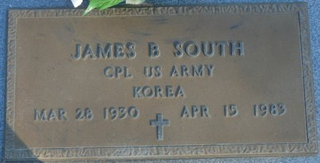 SOUTH (VETERAN KOR), JAMES B (NEW) - Prentiss County, Mississippi   JAMES B (NEW) SOUTH (VETERAN KOR) - Mississippi Gravestone Photos