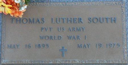 SOUTH (VETERAN WWI), THOMAS LUTHER (NEW) - Prentiss County, Mississippi | THOMAS LUTHER (NEW) SOUTH (VETERAN WWI) - Mississippi Gravestone Photos