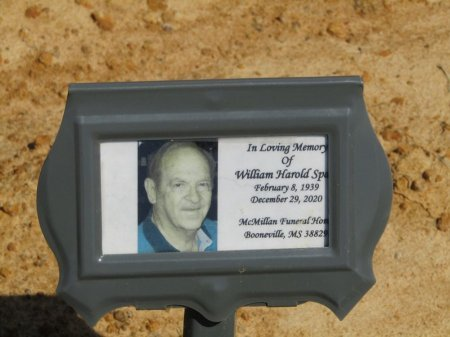 SPAIN, WILLIAM HAROLD - Prentiss County, Mississippi | WILLIAM HAROLD SPAIN - Mississippi Gravestone Photos