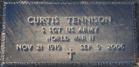 TENNISON (VETERAN WWII), CURTIS (NEW) - Prentiss County, Mississippi | CURTIS (NEW) TENNISON (VETERAN WWII) - Mississippi Gravestone Photos