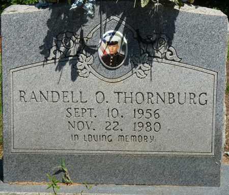 THORNBURG, RANDELL O - Prentiss County, Mississippi | RANDELL O THORNBURG - Mississippi Gravestone Photos