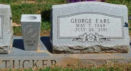 TUCKER, GEORGE EARL - Prentiss County, Mississippi | GEORGE EARL TUCKER - Mississippi Gravestone Photos