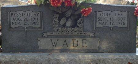 WOODRUFF WADE, BESSIE QUAY - Prentiss County, Mississippi | BESSIE QUAY WOODRUFF WADE - Mississippi Gravestone Photos