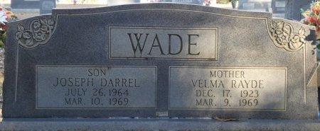 MCBRIDE WADE, VELMA RAYDE - Prentiss County, Mississippi | VELMA RAYDE MCBRIDE WADE - Mississippi Gravestone Photos