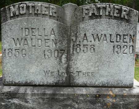 WALDEN, JOHN A - Prentiss County, Mississippi   JOHN A WALDEN - Mississippi Gravestone Photos