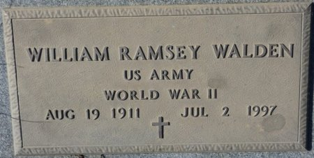 "WALDEN (VETERAN WWII), WILLIAM RAMSEY ""FLIP"" (NEW) - Prentiss County, Mississippi | WILLIAM RAMSEY ""FLIP"" (NEW) WALDEN (VETERAN WWII) - Mississippi Gravestone Photos"