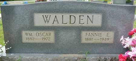 WALDEN, WILLIAM OSCAR - Prentiss County, Mississippi | WILLIAM OSCAR WALDEN - Mississippi Gravestone Photos