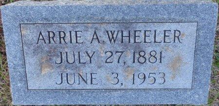 NEWBORN WHEELER, ARRIE A - Prentiss County, Mississippi   ARRIE A NEWBORN WHEELER - Mississippi Gravestone Photos
