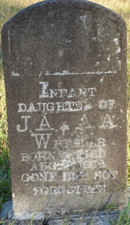 WHEELER, INFANT DAUGHTER - Prentiss County, Mississippi | INFANT DAUGHTER WHEELER - Mississippi Gravestone Photos
