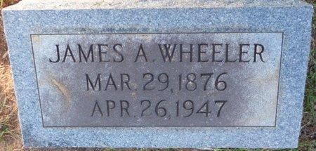 WHEELER, JAMES A - Prentiss County, Mississippi | JAMES A WHEELER - Mississippi Gravestone Photos