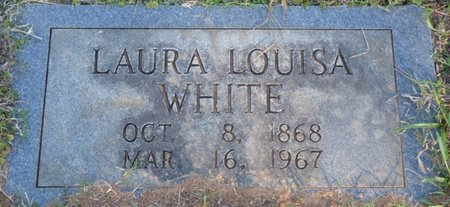 BOGGS WHITE, LAURA LOUISA - Prentiss County, Mississippi | LAURA LOUISA BOGGS WHITE - Mississippi Gravestone Photos