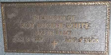 WHITE (VETERAN), ROY EUGENE - Prentiss County, Mississippi   ROY EUGENE WHITE (VETERAN) - Mississippi Gravestone Photos