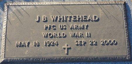 WHITEHEAD (VETERAN WWII), J.B. (NEW) - Prentiss County, Mississippi   J.B. (NEW) WHITEHEAD (VETERAN WWII) - Mississippi Gravestone Photos