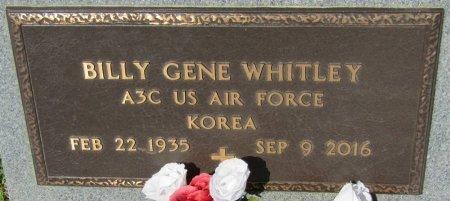 WHITLEY (VETERAN KOR), BILLY GENE (NEW) - Prentiss County, Mississippi   BILLY GENE (NEW) WHITLEY (VETERAN KOR) - Mississippi Gravestone Photos
