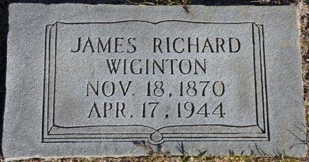 WIGINTON, JAMES RICHARD - Prentiss County, Mississippi | JAMES RICHARD WIGINTON - Mississippi Gravestone Photos
