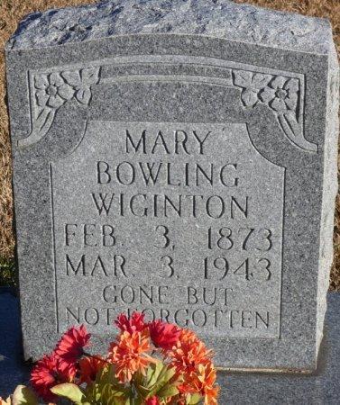 WIGINTON, MARY - Prentiss County, Mississippi | MARY WIGINTON - Mississippi Gravestone Photos