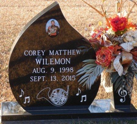 WILEMON, COREY MATTHEW - Prentiss County, Mississippi | COREY MATTHEW WILEMON - Mississippi Gravestone Photos