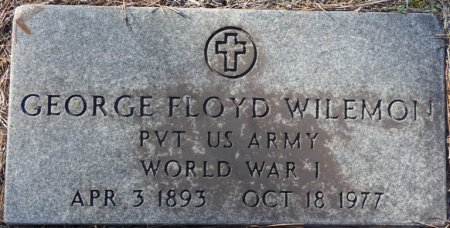 WILEMON (VETERAN WWI), GEORGE FLOYD (NEW) - Prentiss County, Mississippi | GEORGE FLOYD (NEW) WILEMON (VETERAN WWI) - Mississippi Gravestone Photos