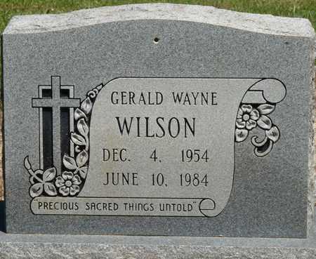WILSON, GERALD WAYNE - Prentiss County, Mississippi | GERALD WAYNE WILSON - Mississippi Gravestone Photos