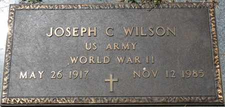 WILSON (VETERAN WWII), JOSEPH C - Prentiss County, Mississippi   JOSEPH C WILSON (VETERAN WWII) - Mississippi Gravestone Photos