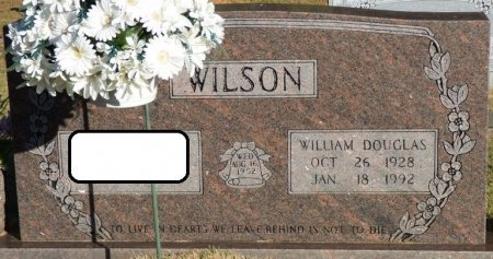 WILSON, WILLIAM DOUGLAS - Prentiss County, Mississippi | WILLIAM DOUGLAS WILSON - Mississippi Gravestone Photos