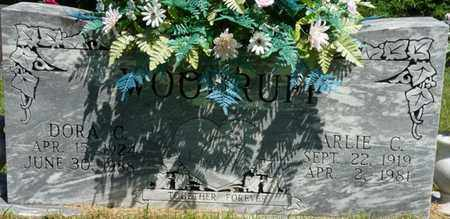 WOODRUFF, ARLIE C - Prentiss County, Mississippi | ARLIE C WOODRUFF - Mississippi Gravestone Photos