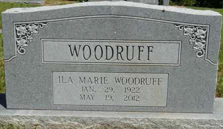WOODRUFF, ILA MARIE - Prentiss County, Mississippi   ILA MARIE WOODRUFF - Mississippi Gravestone Photos