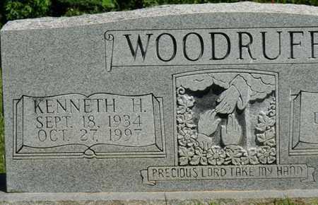 WOODRUFF, KENNETH H - Prentiss County, Mississippi   KENNETH H WOODRUFF - Mississippi Gravestone Photos