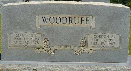 WOODRUFF, MARY LOU - Prentiss County, Mississippi | MARY LOU WOODRUFF - Mississippi Gravestone Photos