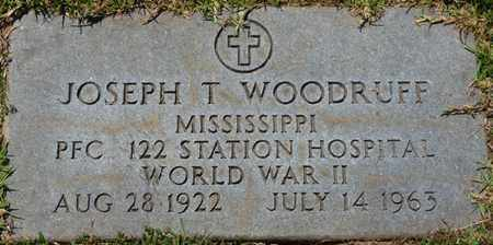 WOODRUFF (VETERAN WWII), JOSEPH T - Prentiss County, Mississippi   JOSEPH T WOODRUFF (VETERAN WWII) - Mississippi Gravestone Photos