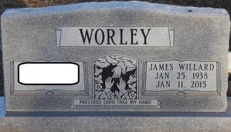WORLEY, JAMES WILLARD - Prentiss County, Mississippi | JAMES WILLARD WORLEY - Mississippi Gravestone Photos