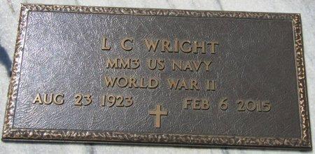 WRIGHT (VETERAN WWII), L.C. (NEW) - Prentiss County, Mississippi | L.C. (NEW) WRIGHT (VETERAN WWII) - Mississippi Gravestone Photos