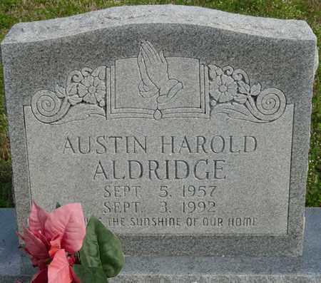 ALDRIDGE, AUSTIN HAROLD - Tishomingo County, Mississippi | AUSTIN HAROLD ALDRIDGE - Mississippi Gravestone Photos