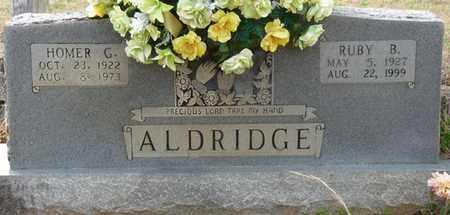 ALDRIDGE, RUBY B - Tishomingo County, Mississippi | RUBY B ALDRIDGE - Mississippi Gravestone Photos