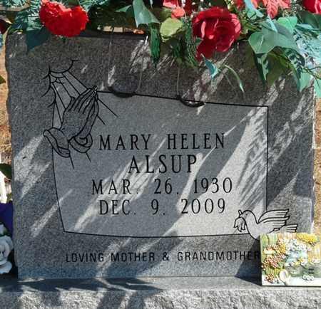 ALSUP, MARY HELEN - Tishomingo County, Mississippi | MARY HELEN ALSUP - Mississippi Gravestone Photos