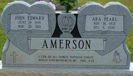 AMERSON, JOHN EDWARD - Tishomingo County, Mississippi | JOHN EDWARD AMERSON - Mississippi Gravestone Photos
