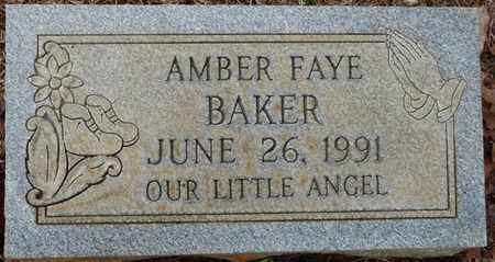 BAKER, AMBER FAYE - Tishomingo County, Mississippi | AMBER FAYE BAKER - Mississippi Gravestone Photos