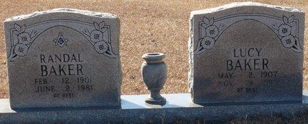 BAKER, RANDAL C - Tishomingo County, Mississippi | RANDAL C BAKER - Mississippi Gravestone Photos